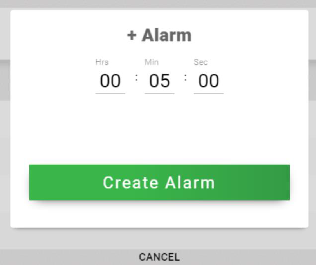 alarm