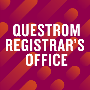 Questrom Registrar's Office